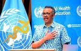 世衛組織總幹事譚德塞呼籲全球團結一致應對疫情。