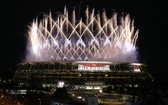 奧林匹克運動會開幕式在日本東京舉行。