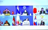 第十四屆湄公河-日本合作外長會議以視頻形式舉行。