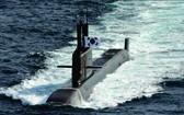"""第一艘3000噸級常規彈道導彈潛艇""""島山安昌浩""""號服役"""