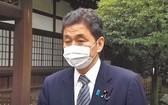日本防衛相岸信夫
