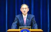 日本首相菅義偉內閣支持率下滑。