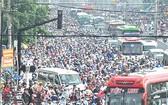 本市交通堵塞情況日趨嚴重。