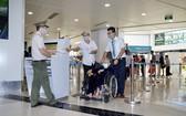 在機場嚴格執行防控新冠肺炎疫情措施。