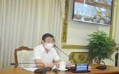 市人委會主席阮成鋒在會上指導。