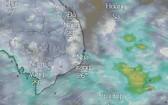 熱帶低氣壓朝中部方向移動