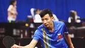 Tay vợt Đinh Quang Linh cùng tuyển Việt Nam giành vé vào bán kết nhóm 3. Ảnh: ITTF