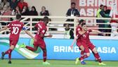 Qatar vượt qua Iraq để vào Tứ kết. Ảnh: AFC