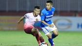 Sài Gòn FC chật vật giành 1 điểm trên sân nhà. Ảnh: DŨNG PHƯƠNG