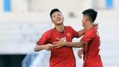 U15 Việt Nam có chiến thắng thứ 3 liên tiếp. Ảnh: Đoàn Nhật