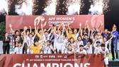 Đội tuyển nữ Việt Nam, tân vô địch Đông Nam Á 2019. Ảnh: Đoàn Nhật