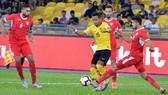 ĐT Malaysia trong trận thắng Indonesia tại Jakarta ở lượt đầu tiên.