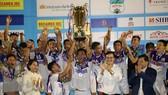 Đội Hà Nội lần thứ 5 đăng quang sân chơi dành cho lứa U21. Ảnh: Nguyễn Nhân