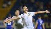 Quảng Nam lần đầu tiên góp mặt ở trận chung kết Cúp QG. Ảnh: Dũng Phương