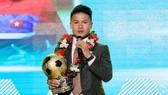 Quả bóng vàng VN 2018 Nguyễn Quang Hải. Ảnh: Hoàng Hùng
