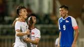 U19 Việt Nam có chiến thắng đầu tiên trước Mông Cổ. Ảnh: Dũng Phương