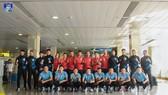Thái Sơn Nam đang là ĐKVĐ của giải futsal Cúp Quốc gia. Ảnh: TSNFC