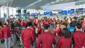 Một số đội tuyển sẽ phải đổi lịch bay sớm hơn vào ngày 2-12 để né siêu bão Kammuri.