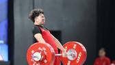 Xuân Hoàng rất nỗ lực, nhưng tiếc rằng anh không thể đoạt được tấm HCV hạng cân 67kg nam. Ảnh: KHƯƠNG DUY