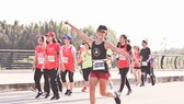 VĐV Đỗ Thị Nguyệt - thành viên AR Saigon - đoạt hạng 3 nữ full marathon.