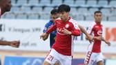 HLV Chung Hae-soung đánh giá Công Phượng thi đấu tròn vai ở vòng 1. Ảnh: VIẾT ĐỊNH