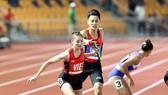 Tiếp sức 4x400m hỗn hợp là nội dung mà điền kinh Việt Nam kỳ vọng sẽ giành vé dự Olympic Tokyo 2020. Ảnh: DŨNG PHƯƠNG