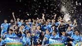 Đại học Cần Thơ vui mừng với ngôi vô địch SV-League 2020.