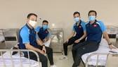 Các thành viên của VFF đã được tiêm vaccine Covid-19 vào sáng ngày 5-4.