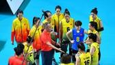Đội tuyển bóng chuyền nữ VIệt Nam từng giành HCB tại SEA Games 30-2019.