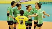 Các cô gái VTV Bình Điền Long An đoạt Cúp Hùng Vương 2021 đầy ngoạn mục.