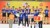 Sanest Khánh Hoà bảo vệ thành công danh hiệu vô địch. Ảnh: PHÚC NGUYỄN
