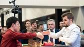 Lê Quang Liêm đã để thua Vua cờ Carlsen Magnus.