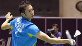 Tay vợt Nguyễn Tiến Minh đã chính thức giành vé dự Olympic. Ảnh: DŨNG PHƯƠNG