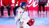 Võ sĩ Trần Thị Ánh Tuyết giành HCB hạng cân dưới 57kg nữ.
