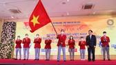 Đoàn thể thao Việt Nam sẽ lên đường sang Nhật Bản vào ngày 18-7.