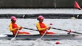 Các tuyển thủ rowing là những người nhập cuộc đầu tiên của Đoàn Việt Nam.