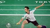 Tay vợt Nguyễn Tiến Minh.