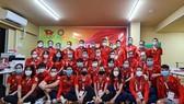 Đoàn thể thao Việt Nam tham dự Olympic Tokyo 2020. Ảnh: T.S