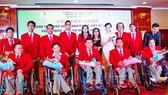 Các VĐV thể thao khuyết tật Việt Nam lên đường tham dự Paralympic 2020.