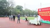 Các HLV và VĐV tại Trung tâm HLTTQG Hà Nội sẽ tham gia hiến máu tình nguyện.