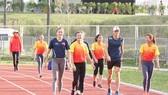 Các VĐV sẽ được tập luyện trở lại và chờ bước vào thi đấu.