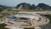 Nhà thi đấu hiện đại của tỉnh Quảng Ninh sẽ đăng cai Đại hội TDTT toàn quốc 2022. Ảnh: DŨNG PHƯƠNG