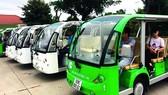 Thí điểm sử dụng xe buýt điện phục vụ khách du lịch ở Hội An