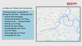 Lộ trình lưu thông thay thế qua hầm sông Sài Gòn từ ngày 26 đến 27-10