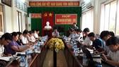 Cuộc họp giao ban báo chí tháng 8-2018
