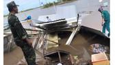 Cà Mau: Sạt lở trong đêm tại khu vực chợ Kênh 17, 14 căn nhà bị thiệt hại