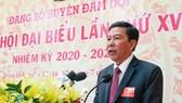 Đồng chí Nguyễn Thanh Luận tái đắc cử Bí thư Huyện ủy Đầm Dơi