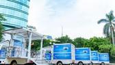 SCB tặng TP Hải Phòng 5 xe tiêm chủng cơ động