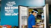"""""""Tủ lạnh Thạch Sanh"""" thường xuyên được lấp đầy thực phẩm để phục vụ người dân"""
