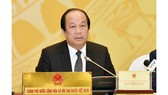 Bộ trưởng-Chủ nhiệm Văn phòng Chính phủ Mai Tiến Dũng trả lời báo chí